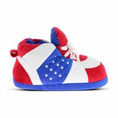 Patriots jongens sneaker sloffen