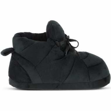 Sneakers sloffen/sloffen zwart voor dames